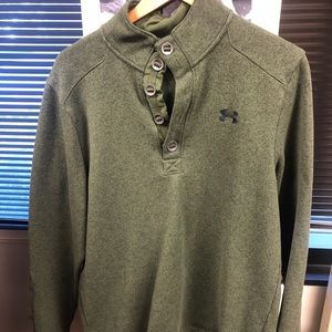 Under Armor hunter green pullover